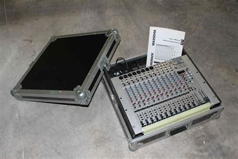 Mixer Behringer Ub2222fx behringer eurorack ub2222fx pro image 528438 audiofanzine