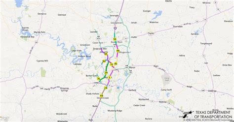 texas traffic map 14 of texas 100 most congested roadways are in san antonio the daily