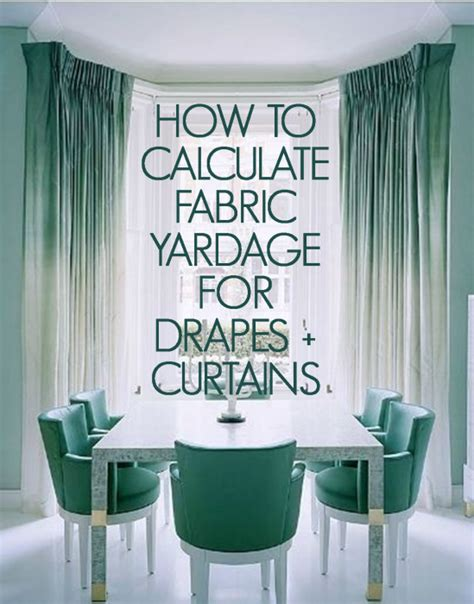 how much fabric for curtains calculator how to calculate yardage for windows curtains draperies