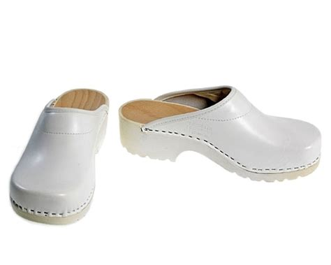 white clogs for soft clogs in white