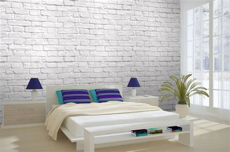 white brick wallpaper bedroom textured brick wallpaper bedroom ideas blue wallpaper
