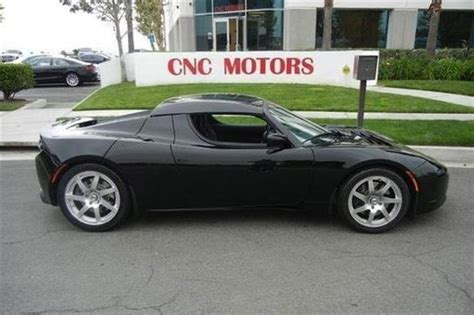Tesla For Sale In California Two Tesla Roadsters Owned By Chili Peppers For