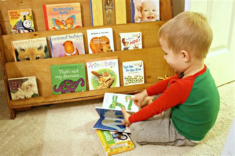 for toddlers selecting limiting and displaying books for toddlers