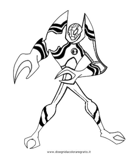 ben 10 omniverse feedback coloring pages coloring pages
