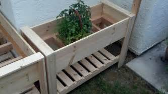 white raised planter boxes diy projects