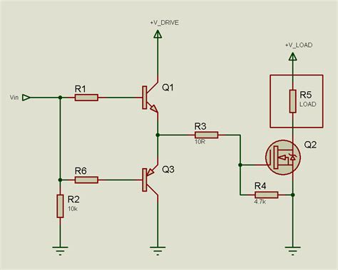 transistor mosfet gate driver circuit tahmid s low side mosfet drive circuits and techniques 7 practical circuits