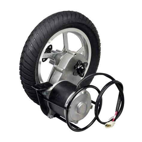 Watt Electric Motors by 24 Volt 450 Watt Direct Drive Electric Motor Rear Wheel