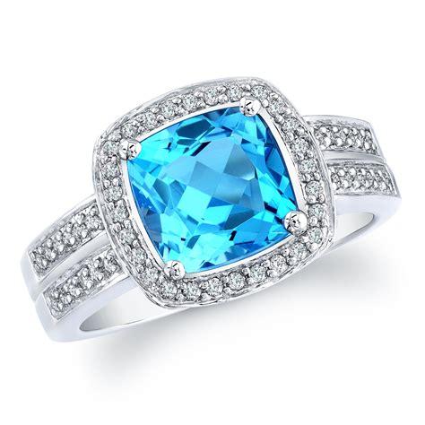 Blue Rings by Designer Blue Topaz Ring