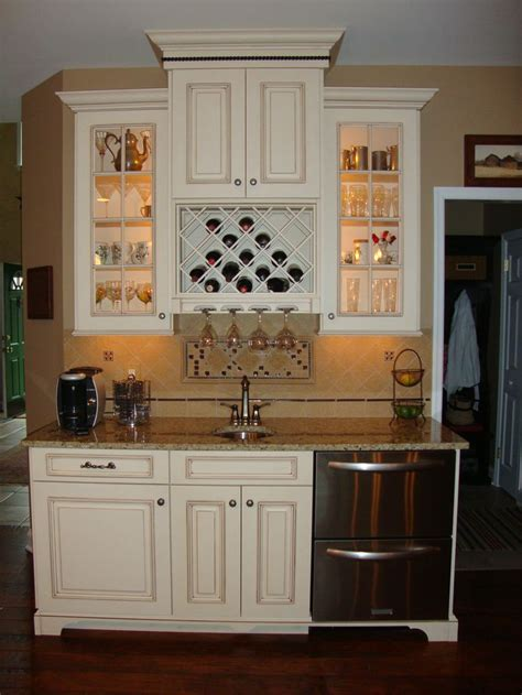 Kitchen Wine Cabinets Built In Wine Rack And Glass Light Up Cabinets But I There S Another Sink In That