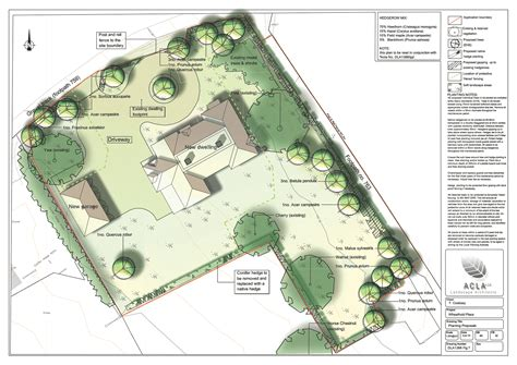 planning for housing house plan housing design landscapes uk acla ltd arboricultural statements