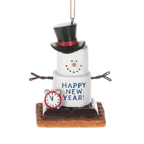 s mores ornaments s more happy new year ornament by midwest cbk