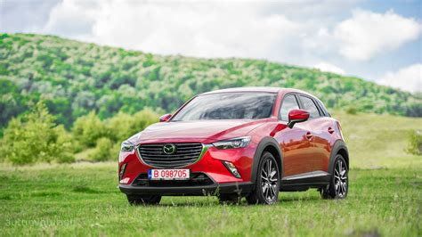 2015 Mazda CX 3 HD Wallpapers: Kodo Lady in Red