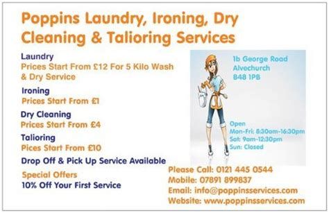poppins service s laundrette in alvechurch birmingham uk