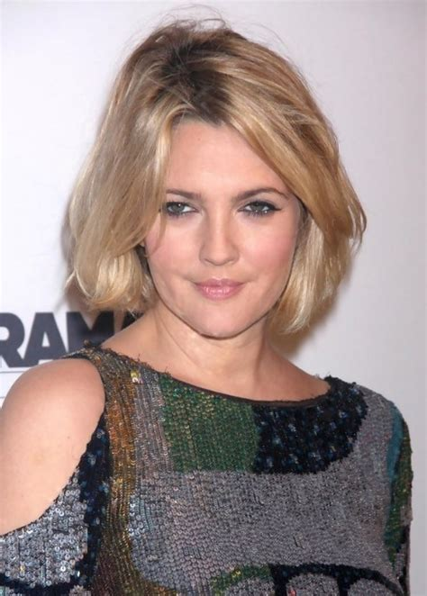 bob hairstyles drew barrymore drew barrymore short hairstyle sexy bob haircut for women