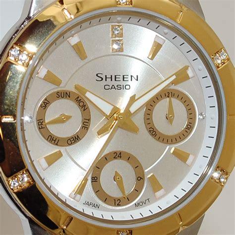 Casio Sheen She 3800sg 楽天市場 casio カシオ sheen シーン she 3800sg 7aef 時計 腕時計 海外モデル