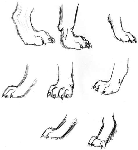 werewolf claws tutorial wolf feet חיפוש ב google lupu pinterest scary
