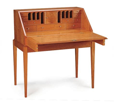 Shaker Writing Desk Plans by This Tiny Shaker Style Of Writing Desk Is Made Of Whole Angstrom Unit Planning And