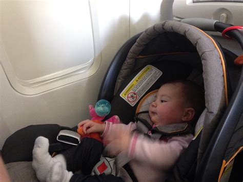 car seats for airplanes tips for flying with baby in a carseat
