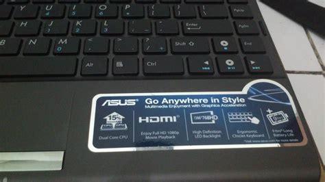 Laptop Asus I3 Makassar nb asus eee pc 1225c tempat jual beli laptop notebook