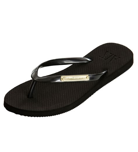 armani exchange slippers armani exchange logo plate flip flop black armani shoes