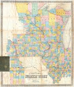Iowa Illinois Map by File 1857 Chapman Pocket Map Of The North West Illinois