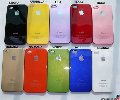 fundas para iphone4s funda carcasa para iphone 4 varios colores