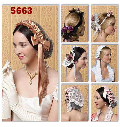 diy edwardian hairstyles civil war ladies day caps victorian head wear free shipping