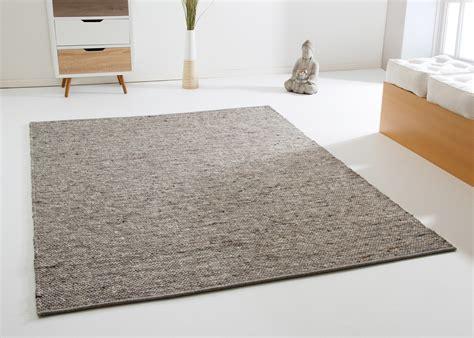 schwarzer teppich läufer handweb teppich benin aus 100 schurwolle beidseitig