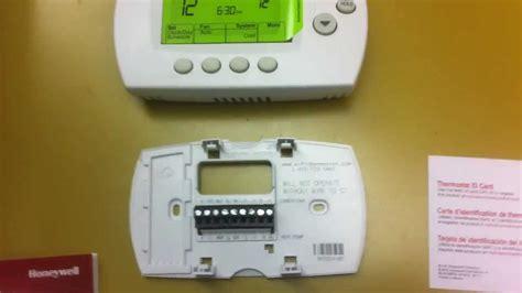 Honeywell Wifi Thermostat Wiring Diagram   webtor.me
