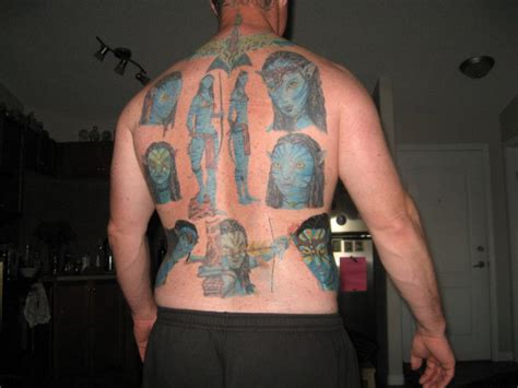 zack snyder tattoos avatar tattoos must seemed like a idea at the
