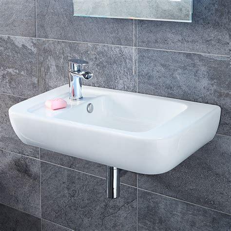 hand basins for bathrooms bellami left hand basin