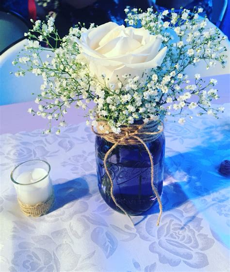 jar centerpieces for baby shower jar centerpieces baby breath in jar baby shower centerpieces baby shower ideas