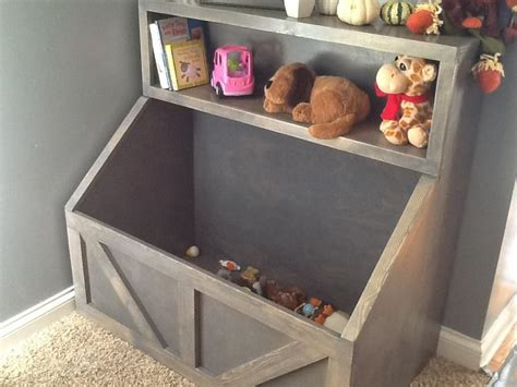 wood toy chest  wood storage  toy storage  wood toy bin