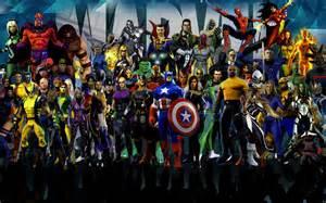 hd marvel heroes 4k for desktop wallpapers with marvel