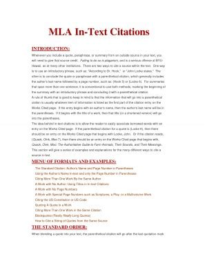 film mla in text citation embedded quotes mla quotesgram