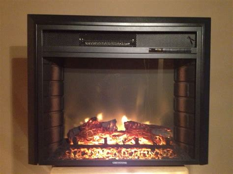rv electric fireplace 23 quot with remote and front ebay