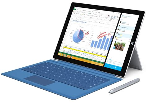 microsoft surface pro 3 complete specifications details
