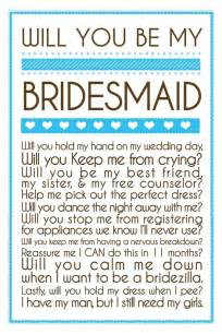 Will You Be My Bridesmaid Templates by Will You Be My Bridesmaid Cards Template