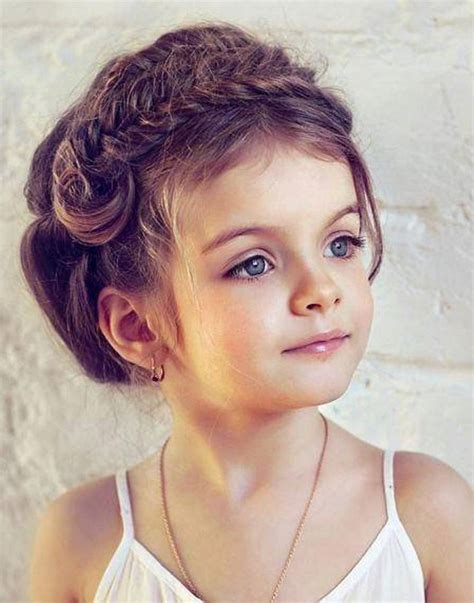 Pretty Little Girl Hairstyles   Immodell.net