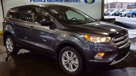 ford escape grey 2017 grey ford escape 4wd se review prince george motors