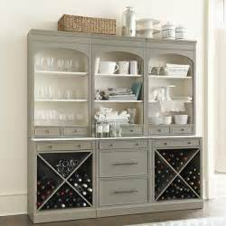 Ballard Designs Mirrors paulette servers set of 3 with wine rack farmhouse