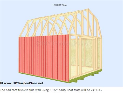 how to build gambrel roof how to build a shed against house friendly woodworking