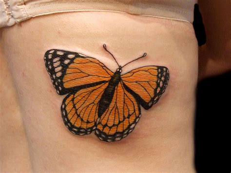 38 bubbly butterfly tattoo designs for butterfly lovers