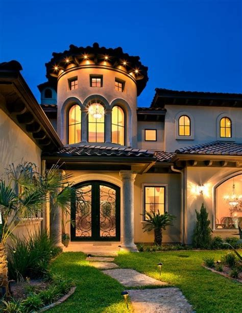 Home Exterior Design Elements Revival Exterior Paint Colors Mediterranean Estate