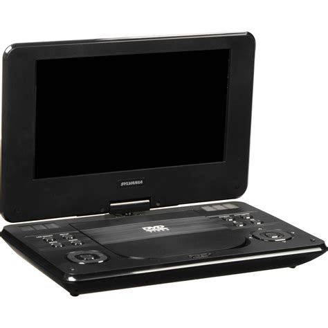 Lighting Style by Sylvania Sdvd9000b2 9 Quot Swivel Style Portable Dvd Player