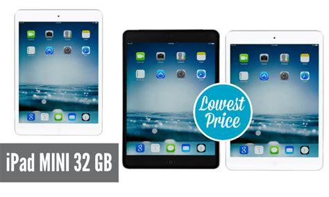 apple ipads best price best price on apple mini 32 gb tablet