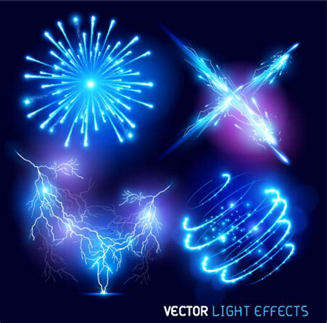 design effect bright fireworks effects design background vector free