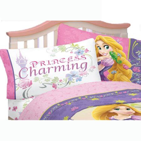 3pc Disney Tangled Twin Bed Sheet Set Rapunzel Princess Tangled Bed Set