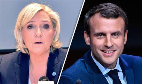 emmanuel macron marine le pen french election latest emmanuel macron likely to win