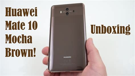 Huawei Mate 10 Pro Mocha Brown Bnib Garansi 1 Tahun huawei mate 10 mocha brown unboxing what does pro